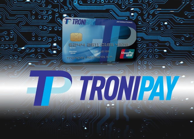 Tronipay (TRP) payment processing for merchants