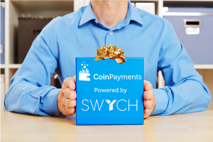 Purchase gift cards using cryptocurrency