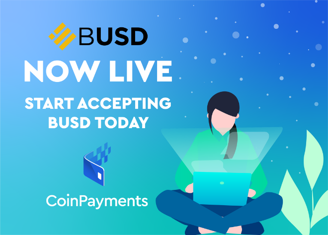 Binance USD BUSD - CoinPayments