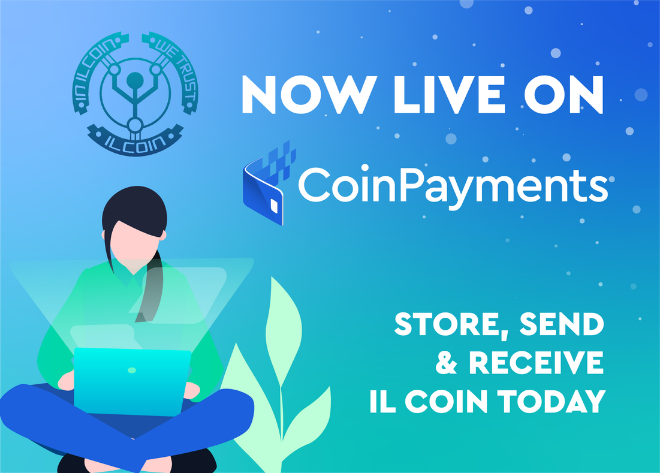 ILCOIN - Cryptocurrency payment solutions