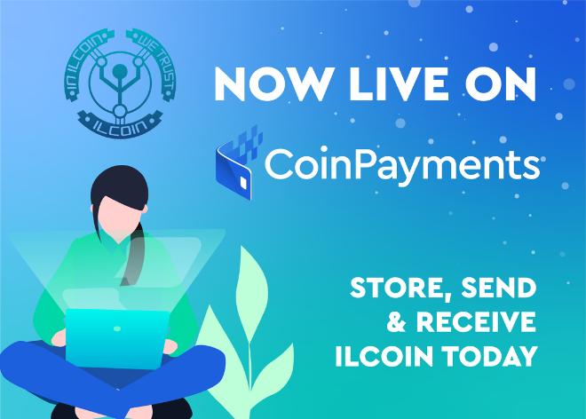 ILCoin (ILC) cryptocurrency payments - CoinPayments